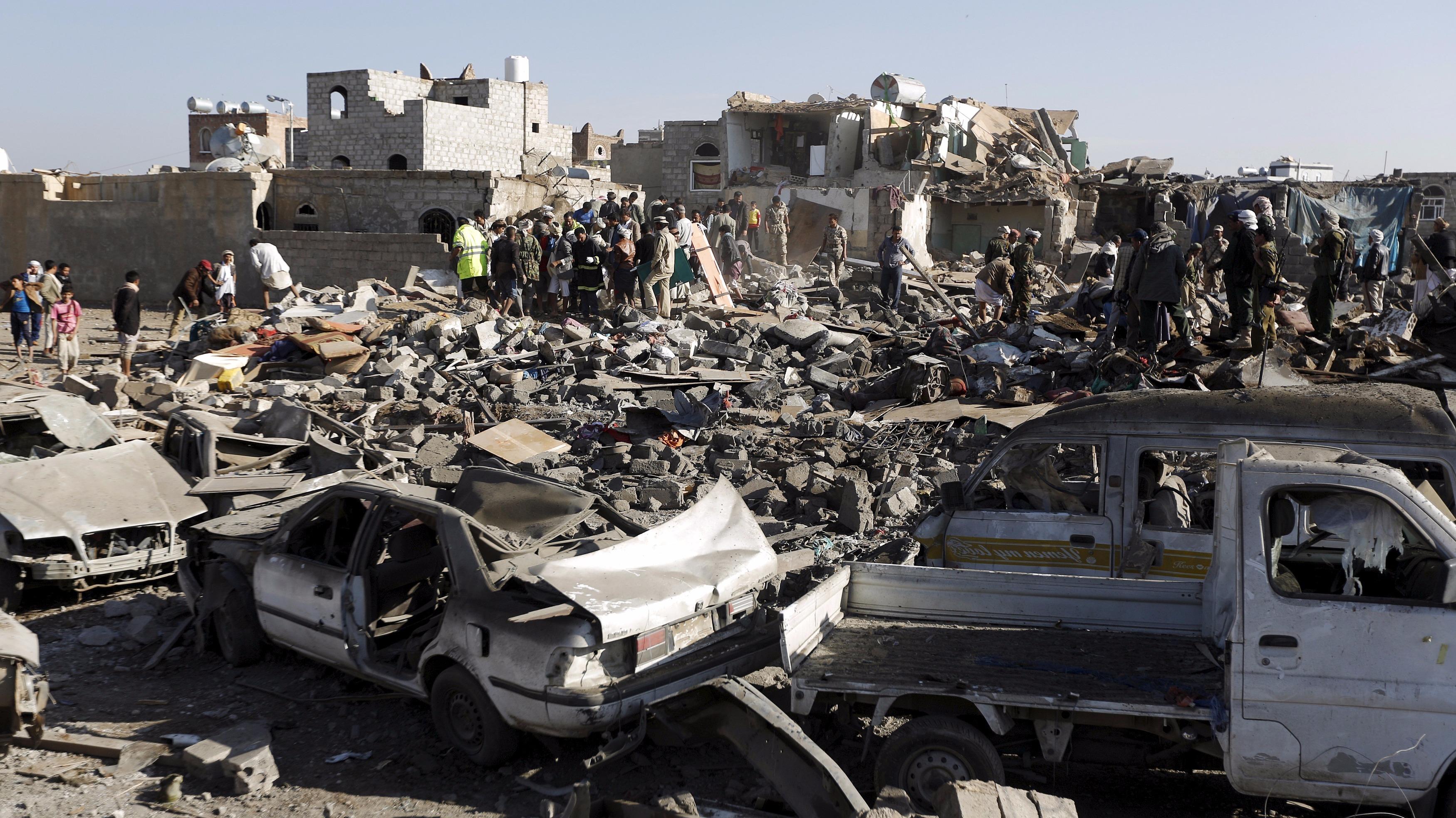 Civilians Killed in Saudi-led Air Strike, 3 Children Dead