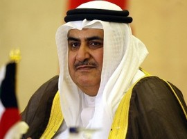 Bahraini Foreign Minister: no political prisoners in Bahrain, only imprisoned terror convicts