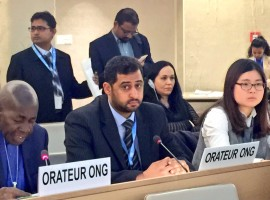 ADHRB at HRC: Human Rights Defenders Still Persecuted in Bahrain