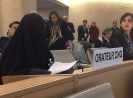 ADHRB at HRC: Use of Excessive Force Against Children