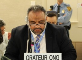 HRC34 Oral Intervention: Item 6 on Bahrain's failure to implement its UPR recs