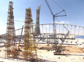 Amidst Concerns for Migrants, Qatari Construction Continues