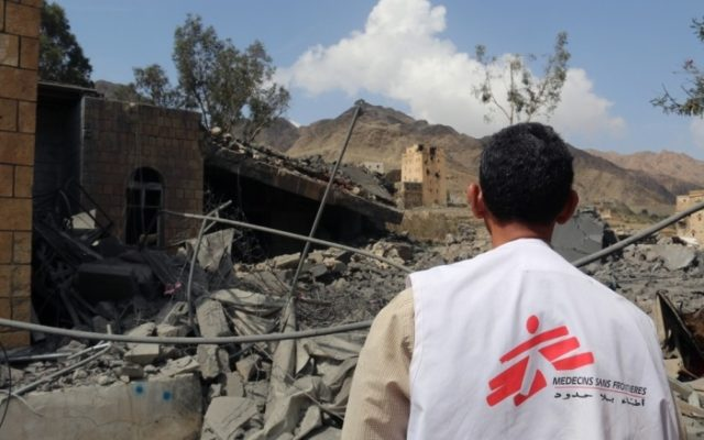 MSF Releases Details of Coalition Airstrikes on Hospitals in Yemen