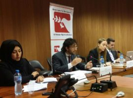 Event Summary: ADHRB at HRC 34 on Religious and Cultural Rights in Saudi Arabia