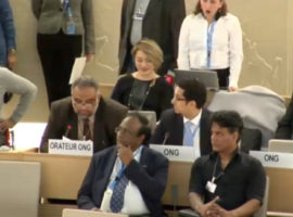Item 8 HRC34 Oral Intervention: Bahrain and medical impartiality