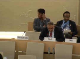 Item 10 HRC34 Oral Intervention: Suspension of OHCHR Cooperation with Bahrain over Rights Abuses