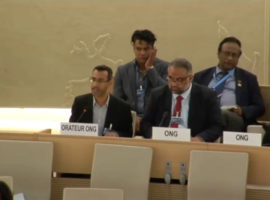 Item 10 HRC34 Oral Intervention: Bahrain's refusal to cooperate with OHCHR