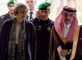 Theresa May omits human rights concerns during visit to Saudi Arabia