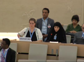 HRC35 Item 10 Oral Intervention: Thematic Technical Cooperation with OHCHR