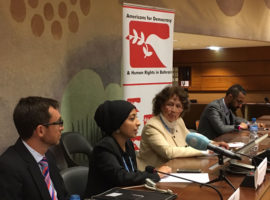 ADHRB at HRC35 Bahrain Event Summary: Reprisals for Cooperation with the HRC