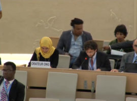 HRC35 Item 10 Oral Intervention: Technical Cooperation between OHCHR and Saudi Arabia