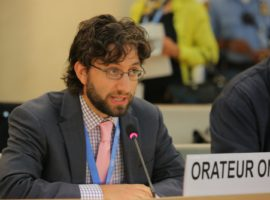 HRC36 Saudi Intervention: Item 10 and Saudi's Cooperation with OHCHR