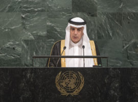 At UN General Assembly, Saudi Foreign Minister seeks to Whitewash Yemen War