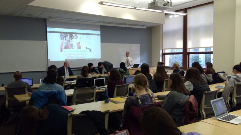 Event Summary: Stand Up for Human Rights in Bahrain – A Panel Discussion at American University
