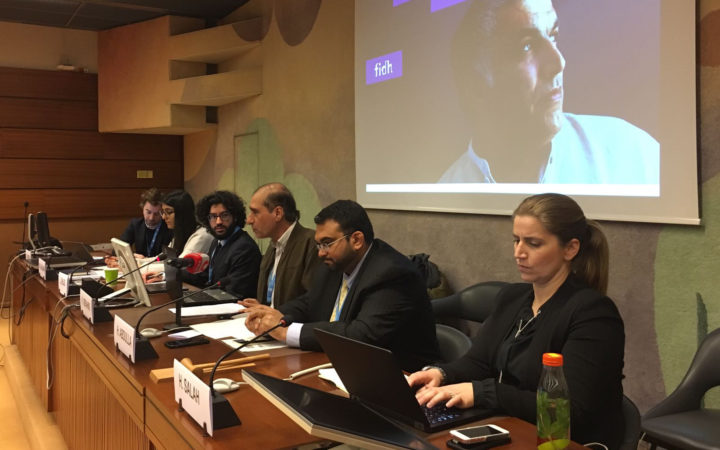 HRC37 GCHR – CIVICUS – ADHRB Side Event on Bahrain's Judiciary