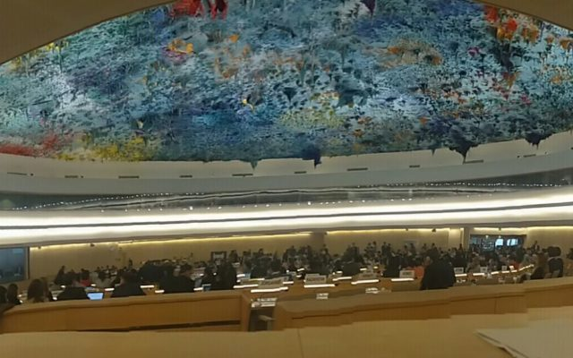 HRC37 Intervention on Bahrain's reprisals against activists for UPR engagement