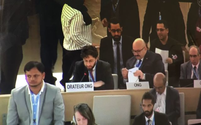 HRC37 Intervention on the UAE's failure to Implement its UPR Recommendations