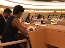 ADHRB at HRC38 criticizes Bahrain's targeting of Shia clerics and religious scholars