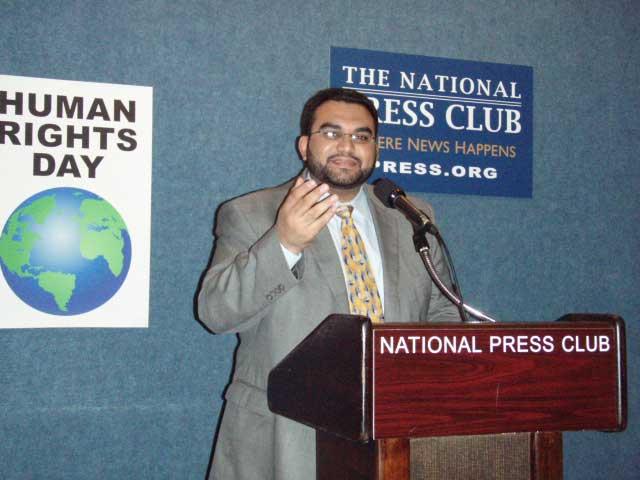 مقابلة المدير التنفيذي لـ (ADHRB) حسين عبد الله في حديث الأمة