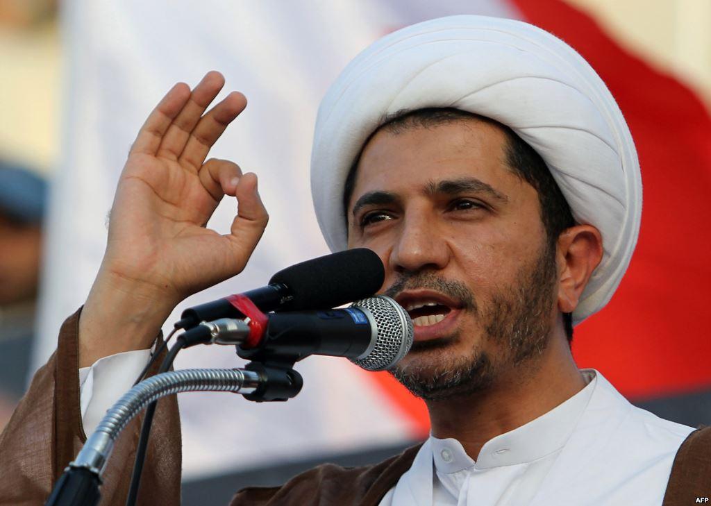 السجون البحرينية فتحت أبوابها للمناضلين، الشيخ علي سلمان مثالاً