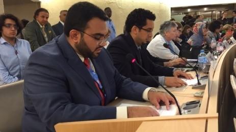 ملخص مشاركة أمريكيون من أجل الديمقراطية وحقوق الإنسان في البحرين في الدورة الـ30 من مجلس حقوق الإنسان