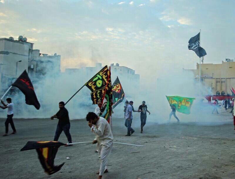 الاعتداء على المراسم الدينية لشهر محرم في البحرين