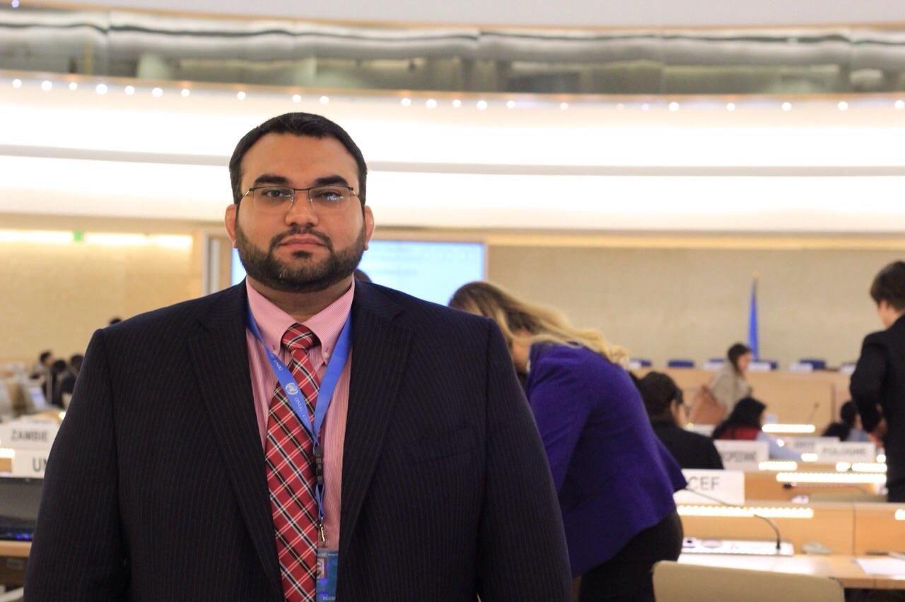 في الامم المتحدة.. (ADHRB) تدين استمرار اعتقال الشاعر القطري أبن الديب