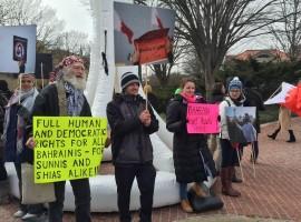ملخص: اعتصام إعادة بناء دوار اللؤلؤة