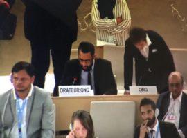مداخلة ADHRB في HRC37 حول فشل البحرين في تنفيذ توصيات المراجعة الدورية الشاملة الخاصة بالدورة الثالثة (UPR)