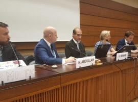 الفعالية الجانبية لمنظمتي ADHRB وGCHR في HRC38# تناقش الأعمال وحقوق الإنسان