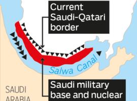عداء السعودية تجاه قطر يدفعها للسعي الى تحويلها الى جزيرة معزولة جغرافيا