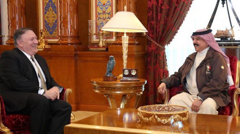 منظمة ADHRB: فَشِلَ وزير الخارجية مايك بومبيو في اثارة قضايا انتهاكات حقوق الإنسان أثناء زيارته للبحرين
