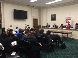 فعالية ADHRB في الكونغرس: دعوة الولايات المتحدة لإعادة تقييم شامل لنهجها تجاه السياسة الخارجية في ظل انتهاكات حقوق الإنسان في البحرين ودول الخليج