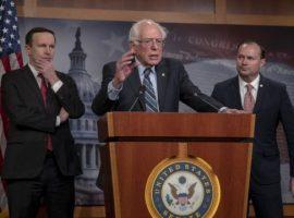 الرئيس ترامب يرفض قرار الكونغرس بوقف الدعم الأمريكي للتحالف الذي تقوده السعودية في الحرب على اليمن