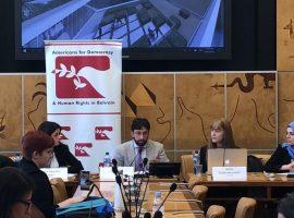 منظمة ADHRB تكشف خلال فعاليتها أنماطاً من إنتهاكات حقوق الإنسان في الإمارات وعُمان