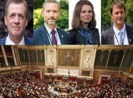 أعضاء من البرلمان الفرنسي يثيرون حملة الإنتهاكات ضد السجناء السياسيين في البحرين في عدد من المسائل البرلمانية