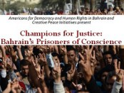 Upcoming Panel Discussion: Champions for Justice: Bahrain's Prisoners of Conscience