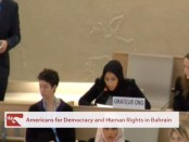 Manar Maki Delivers Statement to Panel on the Rights of the Child