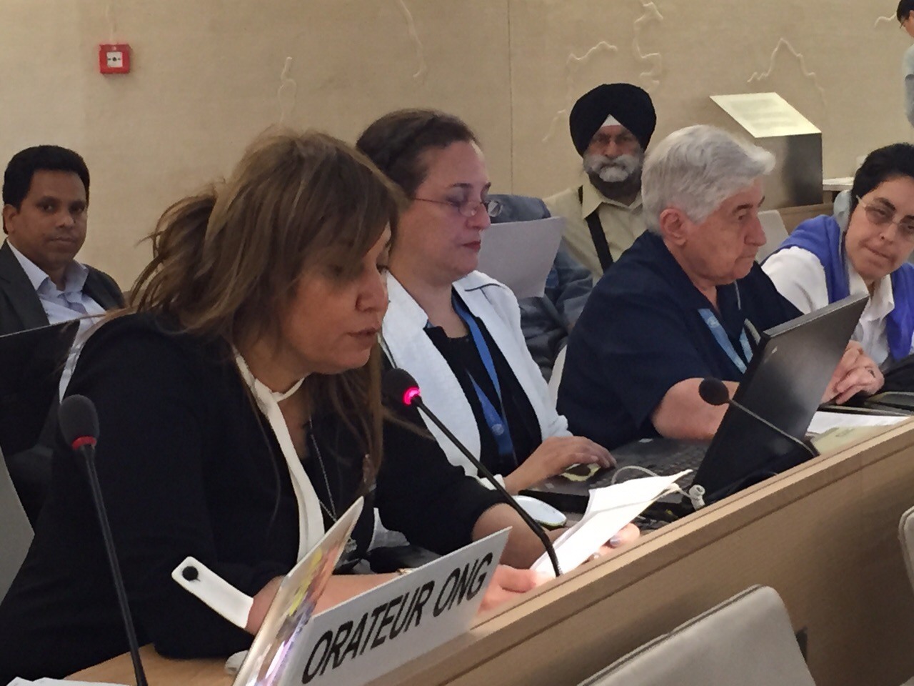 Nedal Al-Salman Delivers Oral Intervention on Executions in Bahrain at HRC29