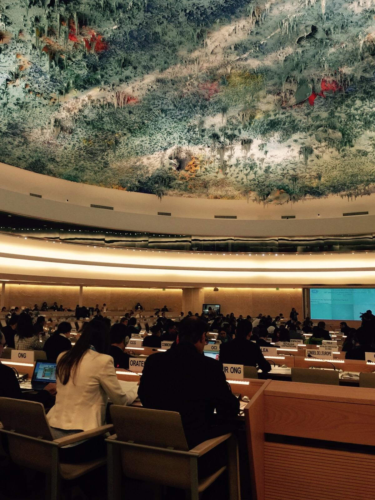 At UN, ADHRB, BIRD, & ECDHR Raise Use of Extraterritorial Censorship in GCC States