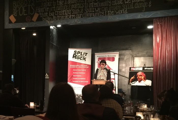 Event Summary: Stifled Verse, Free Verse: An Evening of Poetry and Solidarity