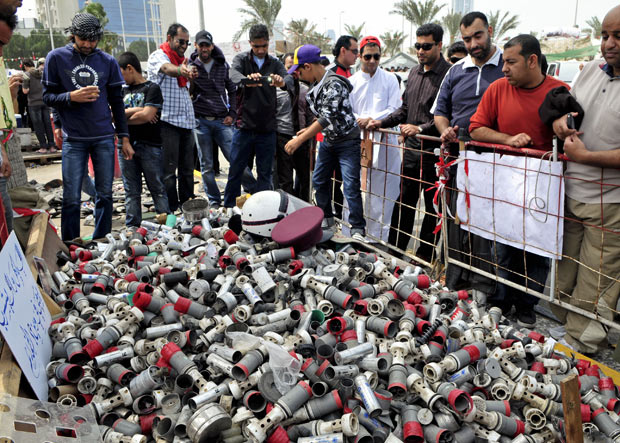 Brazilian Government Blocks Bahraini Tear Gas Probe