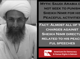 Fact vs Myth: Sheikh Nimr's Execution