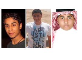 Saudi Arabia: execution announcement raises concern over fate of three young activists