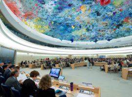 HRC33: ADHRB calls attention to high number of arbitrarily detained prisoners