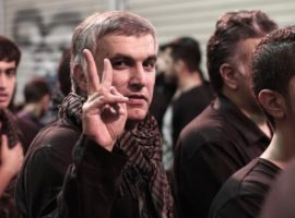 Bahrain , Manama - Human Rights Defender Nabeel Rajab take a part in Manama the capital after releasing him from prison