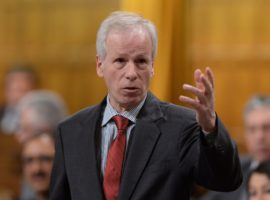 Minister of Foreign Affairs Stephane Dion responds to a question during question period in the House of Commons on Parliament Hill in Ottawa on Friday, Feb. 5, 2016. THE CANADIAN PRESS/Sean Kilpatrick