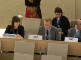 HRC 34 Oral Interventions: ID w/ SR on Privacy