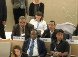 Item 8 HRC34 Oral Intervention: Bahrain's failure to respect Vienna Declaration