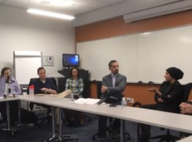 Maryam al-Khawaja Discusses Bahrain's Human Rights Movement at Georgetown Law